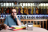 Tom Catalano and his hybrid guitar-burger shop, Tommy's Rock and Roll Cafe..