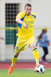 Agim Ibraimi of NK Domzale during football match between NK Domzale and NK Ankaran Hrvatini in Round #30 of Prva liga Telekom Slovenije 2017/18, on May 2nd, 2018 in Sports Park Domzale, Domzale, Slovenia. Photo by Urban Urbanc / Sportida