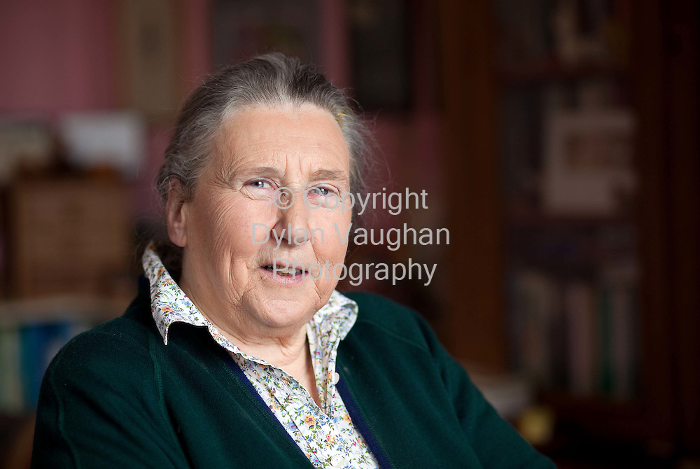 26/3/2010.Jane de Montmorency Wright  pictured at her home in Bennettsbridge County Kilkenny..Picture Dylan Vaughan