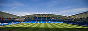 General View of the American Express Community Stadium ahead of the Premier League match between Brighton and Hove Albion and Southampton at the American Express Community Stadium, Brighton and Hove, England on 24 August 2019.