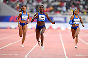 Dina Asher-Smith (GBR) wins the women's 200m in 22.26 during the IAAF Doha Diamond League 2019 at Khalifa International Stadium, Friday, May 3, 2019, in Doha, Qatar (Jiro Mochizuki/Image of Sport)