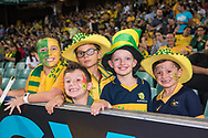 March 28 2017: Socceroos crowd at the 2018 FIFA World Cup Qualification match, between The Socceroos and UAE played at Allianz Stadium in Sydney.