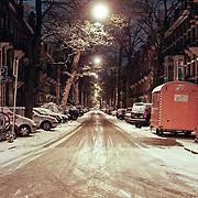 NLD/Amsterdam/20101129 - Nachtelijk straten gemeente Amsterdam, van Eeghenstraat