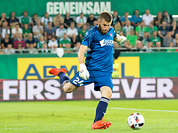25.08.2016, Allianz Stadion, Wien, AUT, UEFA EL, SK Rapid Wien vs FK AS Trencin, Play off, Rueckspiel, im Bild Igor Semrinec (FK AS Trencin)// during the UEFA Europa League Play off 2nd Leg Match between SK Rapid Wien and FK AS Trencin at the Allianz Stadion, Vienna, Austria on 2016/08/25. EXPA Pictures © 2016, PhotoCredit: EXPA/ Sebastian Pucher
