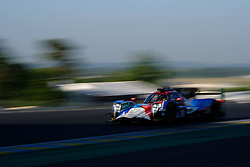 June 18, 2017 - Le Mans, Sarthe, France - GRAFF DUNLOP ORECA 07 - GIBSON rider JAMES WINSLOW (BRA) in action during the race of the 24 hours of Le Mans on the Le Mans Circuit - France (Credit Image: © Pierre Stevenin via ZUMA Wire)