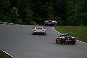 Racing action during round 5 of the Lamborghini super trofeo series.