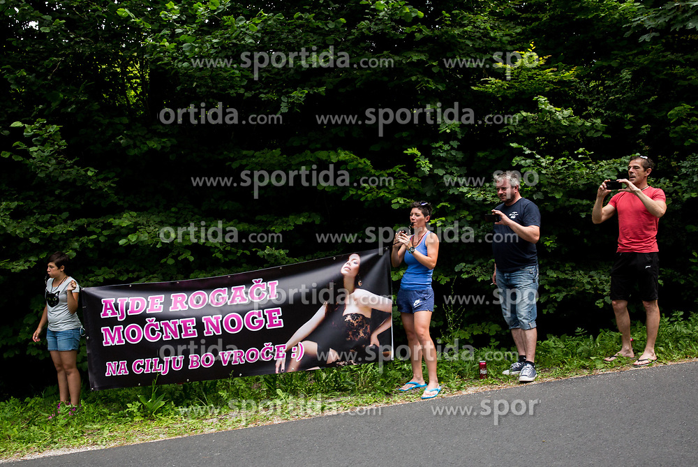 Fans of Rog during Stage 2 of 24th Tour of Slovenia 2017 / Tour de Slovenie from Ljubljana to Ljubljana (169,9 km) cycling race on June 16, 2017 in Slovenia. Photo by Vid Ponikvar / Sportida