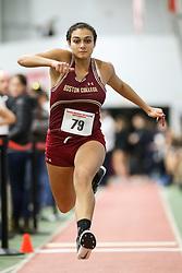 Triple Jump, BC, Yasmin Ali<br /> Boston University Athletics<br /> Hemery Invitational Indoor Track & Field