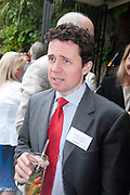 EDWARD LILLEYSTONE, AYLESFORD, Archant Summer party. Kensington Roof Gardens. London. 7 July 2010. -DO NOT ARCHIVE-© Copyright Photograph by Dafydd Jones. 248 Clapham Rd. London SW9 0PZ. Tel 0207 820 0771. www.dafjones.com.