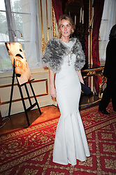 The MARCHIONESS OF BUTE at a dinner hosted by HRH Prince Robert of Luxembourg in celebration of the 75th anniversary of the acquisition of Chateau Haut-Brion by his great-grandfather Clarence Dillon held at Lancaster House, London on 10th June 2010.