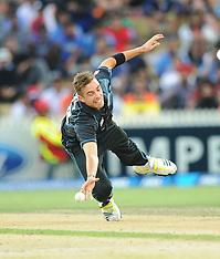 Hamilton-Cricket, New Zealand v India 2nd one day, January  22