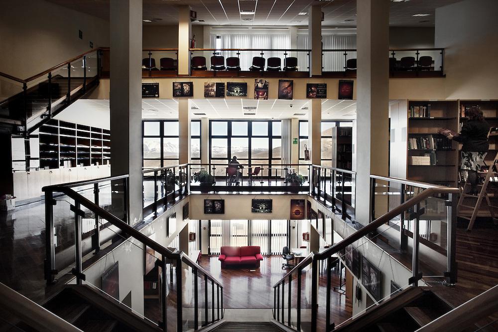 Libreria Gran Sasso INFN<br /> <br /> Library's Gran Sasso INFN
