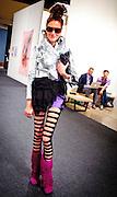 Socialite, art enrepreneur and curator Stacy Engman at Art Basel Miami Beach 2010