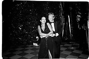 Princess Olga of Greece and Pietro Berlingieri. Save Venice Ball. Venice. 1991. © Copyright Photograph by Dafydd Jones 66 Stockwell Park Rd. London SW9 0DA Tel 020 7733 0108 www.dafjones.com