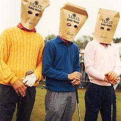 WEIRD & WONDERFUL GOLF IMAGES