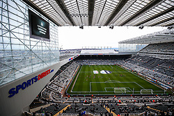 General View from the away stand at St James' Park - Rogan Thomson/JMP - 25/02/2017 - FOOTBALL - St James' Park - Newcastle, England - Newcastle United v Bristol City - Sky Bet EFL Championship.