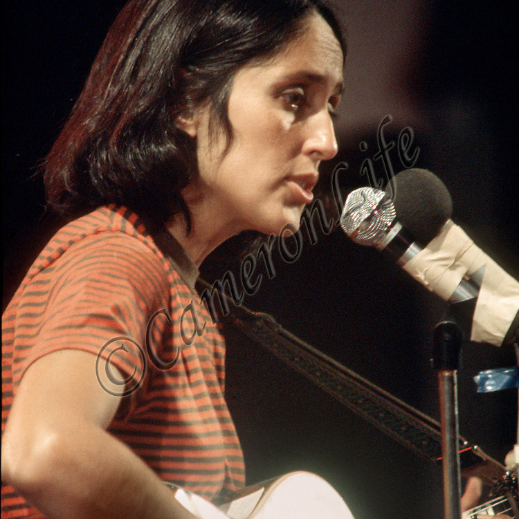 "Joan Baez - "" Let it be"".- .Following Hendrix on stage was potentially the hardest job in the world, but Joan reacted by making her first song ""Let it Be"". She won the crowd immediately and continued from strength to strength. Baez took complete control and the audience hung on her every word. ""the finest folk singer in the World"" had shown what she was made of"