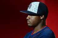 PHOENIX, AZ - JULY 04:  Luis Perdomo #61 of the San Diego Padres sits in the dugout prior to the game against the Arizona Diamondbacks at Chase Field on July 4, 2016 in Phoenix, Arizona.  (Photo by Jennifer Stewart/Getty Images)