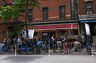 The making of a television show at Antonucci Cafe on East 81st street.