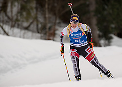11.01.2018, Chiemgau Arena, Ruhpolding, GER, IBU Weltcup Biathlon, Ruhpolding, Einzel, Damen, im Bild Susanne HOFFMANN (AUT) // during Ladies Individual of BMW IBU Biathlon World Cup at the Chiemgau Arena in Ruhpolding, Germany on 2018/01/11. EXPA Pictures © 2018, PhotoCredit: EXPA/ Ernst Wukits