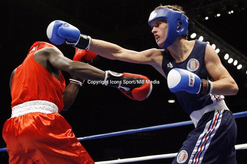 Alexis VASTINE - 26.10.2007 - Championnats du monde amateur - Chicago - USA<br />Photo: Ed Mulholland / USPW / Icon sport