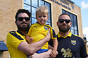 *** during the EFL Sky Bet League 1 match between Oxford United and Burton Albion at the Kassam Stadium, Oxford, England on 25 August 2018.