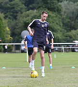 Dundee new boy Nick Ross - Dundee pre-season training at University grounds, Riverside<br /> <br />  - &copy; David Young - www.davidyoungphoto.co.uk - email: davidyoungphoto@gmail.com