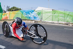 de VAAN Laura, NED, H4-5, Cycling, Time-Trial at Rio 2016 Paralympic Games, Brazil