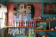 Mongolia. daycare center for children  Hahorin - /  garderie pour enfants  Karakorum - Mongolie