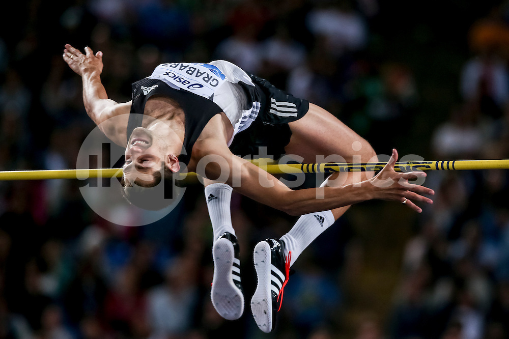 Robbie Grabarz (GBR) High Jump men during the IAAF Diamond League Golden Gala Pietro Mennea at Stadio Olimpico, Rome, Italy on 2 June 2016. Photo by Giuseppe Maffia.