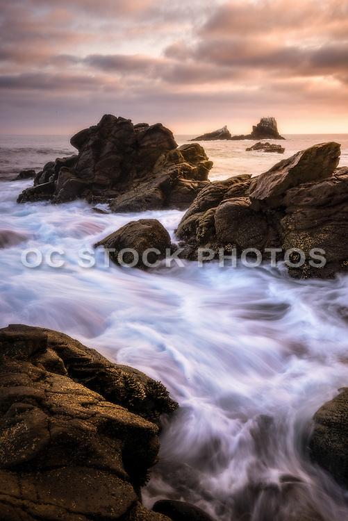 Crescent Bay Rocky Coastline of Laguna Beach