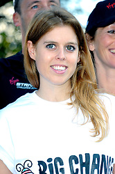 Image ©Licensed to i-Images Picture Agency. 07/08/2014. London, United Kingdom. Princess Beatrice poses for the launch of charity fundraiser in aid of Big Change, The O2, Peninsula Square. Picture by Chris Joseph / i-Images