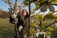 Chiara, socio del PeR e moglie di Alessandro, è agronomo e si occupa di varietà dimenticate di alberi da frutta