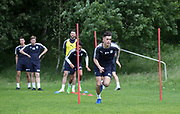Dundee&rsquo;s Jesse Curran during the warm up - Dundee FC pre-season training at Michelin Grounds, Dundee, Photo: David Young<br /> <br />  - &copy; David Young - www.davidyoungphoto.co.uk - email: davidyoungphoto@gmail.com