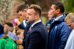 Andy Uren in attendance at the Remembrance Service at the Memorial Stadium - Ryan Hiscott/JMP - 09/11/2018 - FOOTBALL - Memorial Stadium - Bristol, England - Memorial Stadium Remembrance Service