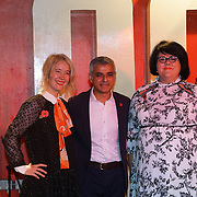 London, England,UK. 4th Nov 2016: Justine Simons,Sadiq Khan,Amy Lame attends Amy Lame as UK first-ever Night Czar at 100 Club,London,UK. Photo by See Li