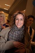 REBECCA KORNER, Smythson Sloane St. Store opening. London. 6 February 2012.