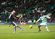 Dundee&rsquo;s Gary Harkins fires a last minute chance over the bar - Celtic v Dundee - Ladbrokes Scottish Premiership at Dens Park<br /> <br />  - &copy; David Young - www.davidyoungphoto.co.uk - email: davidyoungphoto@gmail.com
