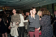 CHRIS GOVE; ALEXA CHUNG; , GQ Style party, The Bassoon Bar , The Corinthia Hotel, Whitehall Place London. 15 March 2011.  -DO NOT ARCHIVE-© Copyright Photograph by Dafydd Jones. 248 Clapham Rd. London SW9 0PZ. Tel 0207 820 0771. www.dafjones.com.