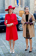 Amsterdam , 29-11-2016 <br /> <br /> State Visit of King Filip and Queen Mathilde to The Netherlands.<br /> <br /> King Willem-Alexander and Queen Maxima, King Filip and Queen Mathilde<br /> <br /> Meeting with Prime Minister Rutte <br /> COPYRIGHT ROYALPORTRAITS EUROPE/ BERNARD RUEBSAMEN