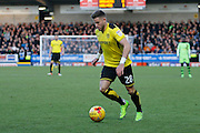 Burton Albion midfielder Michael Kightly (28) during the EFL Sky Bet Championship match between Burton Albion and Wolverhampton Wanderers at the Pirelli Stadium, Burton upon Trent, England on 4 February 2017. Photo by Richard Holmes.