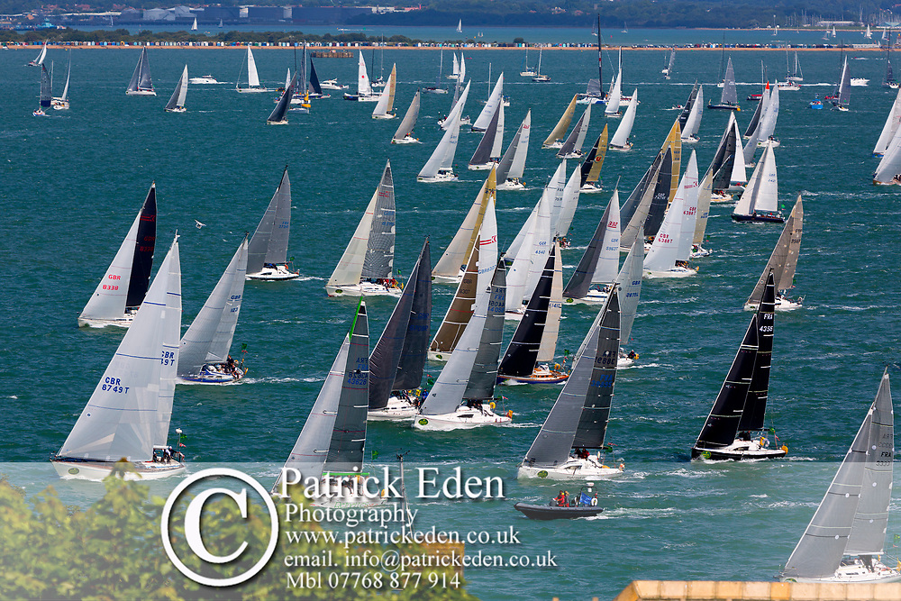 Sunday 6th August, Start of the, 2017, Fastnet Race, Cowes, Isle of Wight, England, 2017, Rolex,