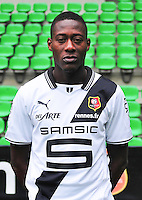 Cheikh NDIAYE - 19.09.2013 - Photo officielle - Rennes - Ligue 1<br /> Photo : Philippe Le Brech / Icon Sport