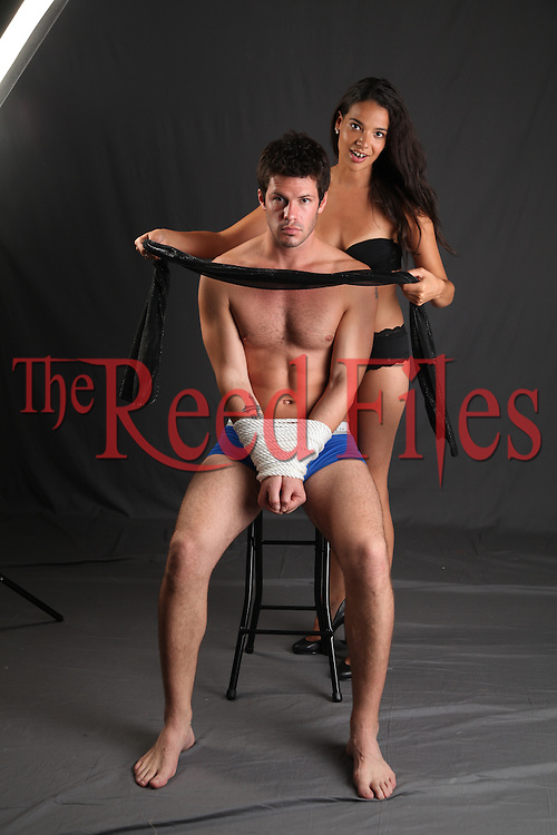 The Reed Files Sensual Bondage Stock Images