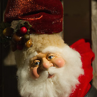 TREVISO, ITALY - DECEMBER 06:  A detailed Father Christmas is seen at Morandin shop on December 6, 2011 in Treviso, Italy. Christmas Markets are popular in Northern Italian cities, selling festive items including lights, nativity scenes, decorations and local festive handicrafts. In most cities they will run from the end of November to January 6th. HOW TO LICENCE THIS PICTURE: please contact us via e-mail at sales@xianpix.com or call our offices in London   +44 (0)207 1939846 for prices and terms of copyright. First Use Only ,Editorial Use Only, All repros payable, No Archiving.© MARCO SECCHI