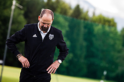 Ante Simundza head coach of NS Mura during the football match between NK Aluminij and NS Mura in Semifinals of Slovenian football Cup 2019/20, on 9th of June, 2020 in NNC Brdo, Brdo pri Kranju, Slovenia. Photo by Grega Valancic / Sportida