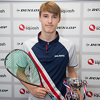 Dunlop British Junior Squash Championship 2017 at the National Squash Centre in Manchester, UK.