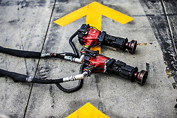 September 1, 2017 - Monza, Italy - Motorsports: FIA Formula One World Championship 2017, Grand Prix of Italy, ..pit stop tools  (Credit Image: © Hoch Zwei via ZUMA Wire)
