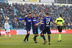 "Foto Filippo Rubin<br /> 06/01/2018 Ferrara (Italia)<br /> Sport Calcio<br /> Spal - Lazio - Campionato di calcio Serie A 2017/2018 - Stadio ""Paolo Mazza""<br /> Nella foto: SECONDO GOAL CIRO IMMOBILE (LAZIO)<br /> <br /> Photo by Filippo Rubin<br /> January 06, 2018 Ferrara (Italy)<br /> Sport Soccer<br /> Spal vs Lazio - Italian Football Championship League A 2017/2018 - ""Paolo Mazza"" Stadium <br /> In the pic: SECOND GOAL CIRO IMMOBILE (LAZIO)"