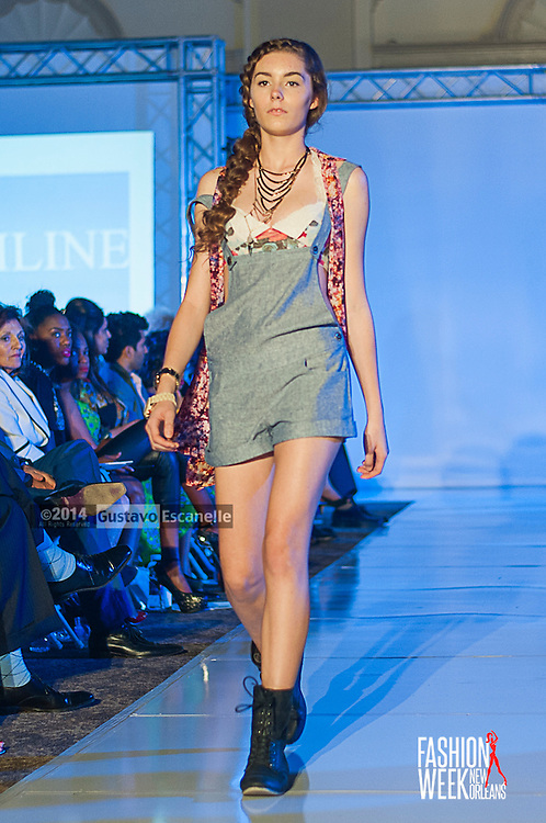 FASHION WEEK NEW ORLEANS: Hemline Boutique show case her design on the runway at the Board of Trade, Fashion Week New Orleans on Friday March 21. 2014. #FWNOLA, #FashionWeekNOLA, #Design #FashionWeekNewOrleans, #NOLA, #Fashion #BoardofTrade, #GustavoEscanelle, #TraceeDundas , #HemlineBoutique. View more photos at <br /> http://Gustavo.photoshelter.com or <br /> http://fashionweeknola.com